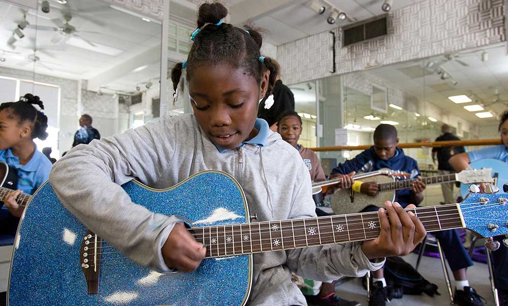 President's Committee on the Arts and Humanities' Turnaround Schools Demonstrate Student Improvement Through The Arts