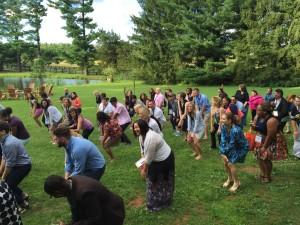 2015 Retreat Reception Dance