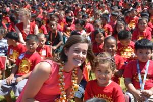 Emily in Hawai`i