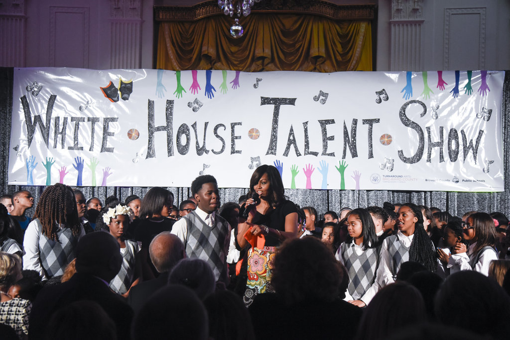 Michelle Obama secures a post-White House future for her school arts program
