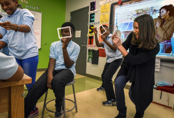 How a former White House photographer helped these D.C. kids learn