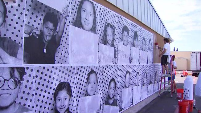 Large Mural Created Out of Chula Vista Student Photos
