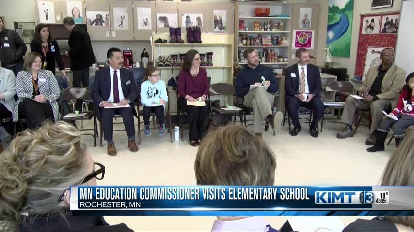 Minnesota's education commissioner visits Rochester
